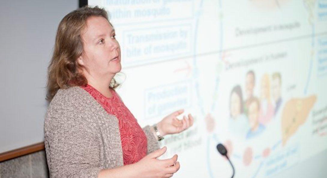Sandra Gibbons teaching