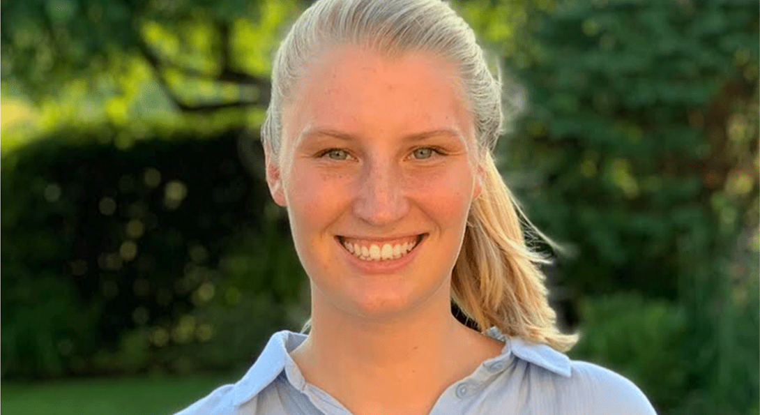Allie Kemph, first year graduate student